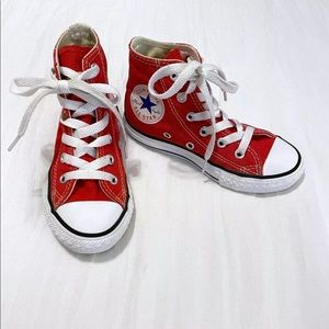 Converse High Tops Red 10.5